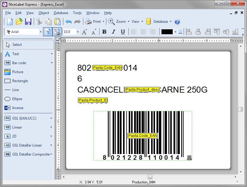 Zebra Barcode Design Software