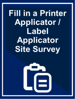 Fill in a Site Survey