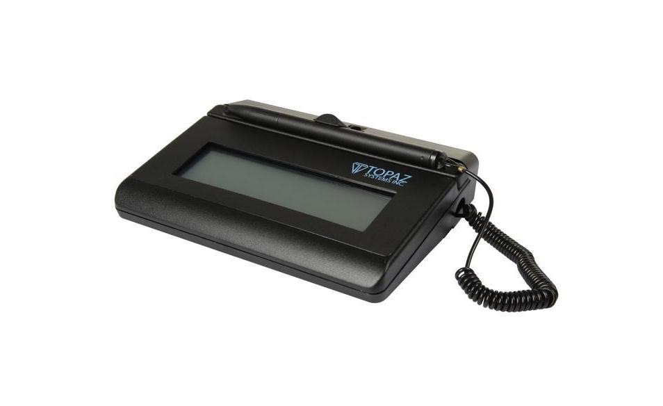 Topaz SigLite LCD Signature Capture Pad - I B C  : I B C