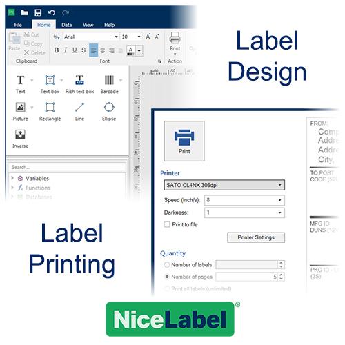 NiceLabel Label Design and Printing