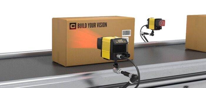 fixed mount scanning of box on conveyor belt