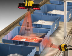 scanners on conveyor belt